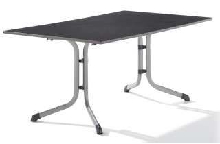 Table Puroplan Ardoise anthracite 165X95cm