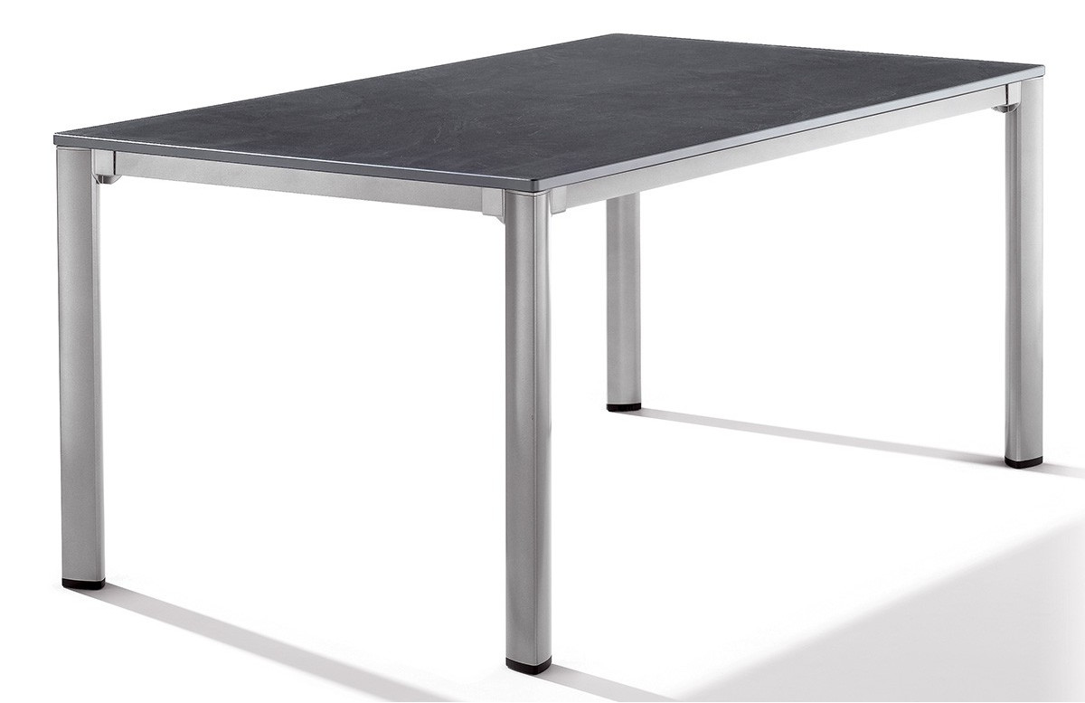 Table aspect ardoise anthracite