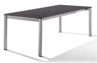 Table extensile Puroplan Gris graphite 165/225/285X95cm