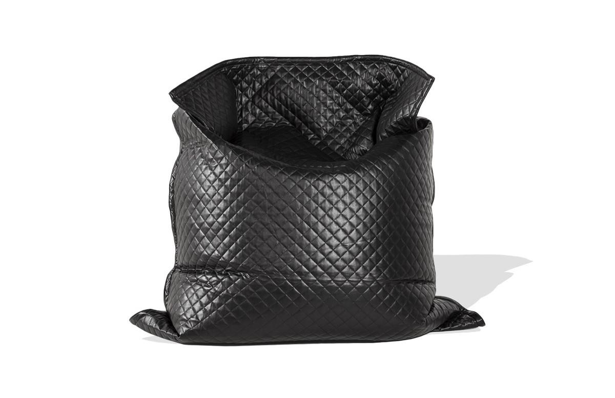 Pouf géant PARTY noir 135X175cm