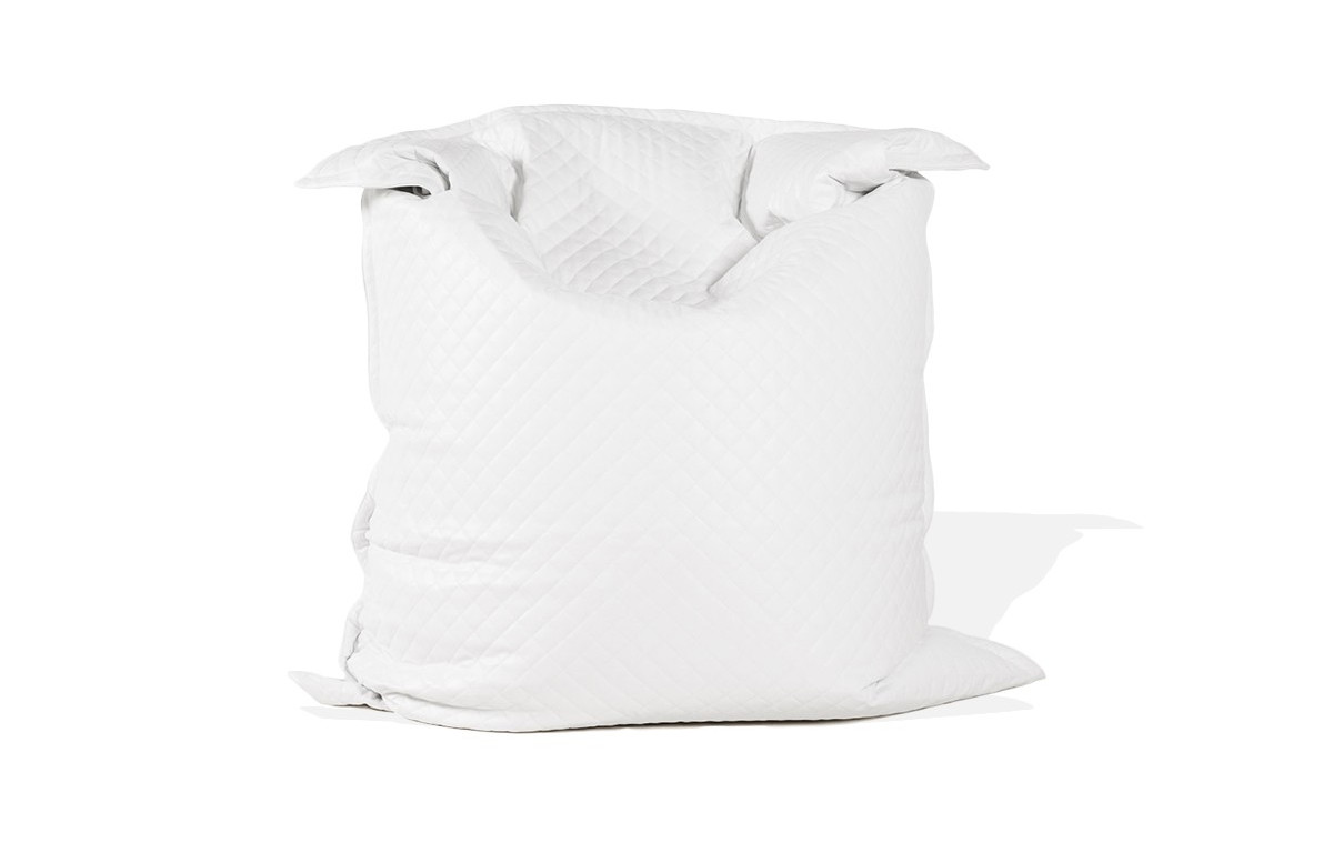 Pouf géant PARTY blanc 135x175cm