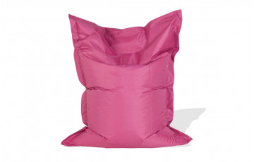 Pouf LAZY MINI rose 130x100cm