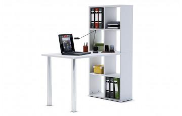 Bureau bibliothèque couleur m.blanc