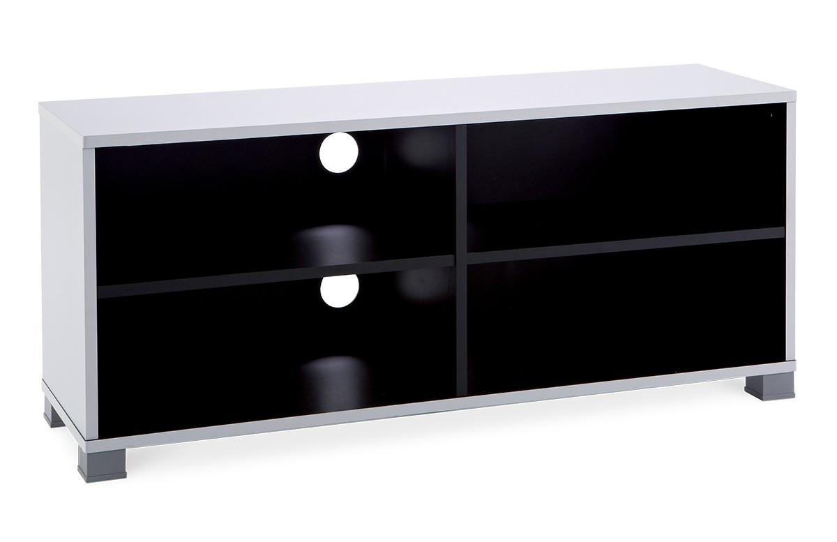 Banc tv 101cm GRAFIT couleur white/black