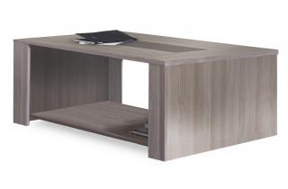 Table basse 120X64cm DUCHESS couleur chene shannon/beton clair