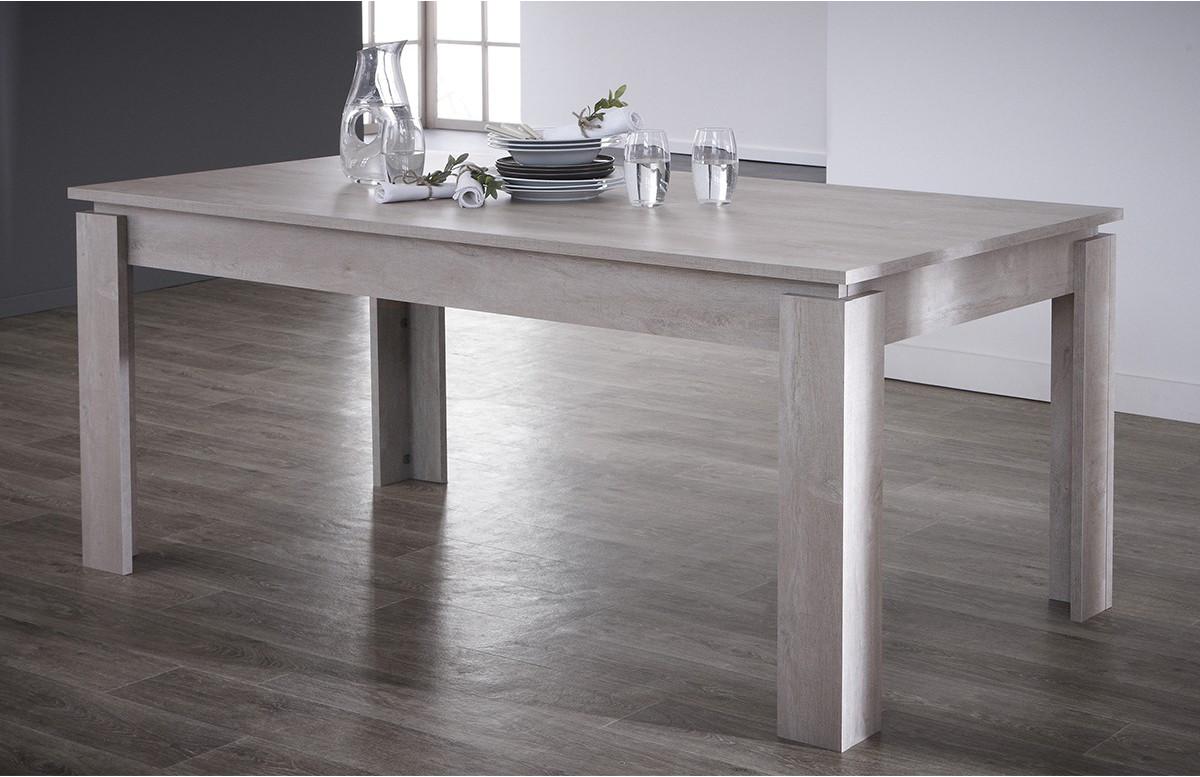Table 170X90cm SEGUR couleur chene champagne