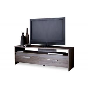 banc tv 139cm couleur ch ne fonc le r ve chez vous. Black Bedroom Furniture Sets. Home Design Ideas