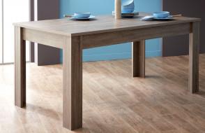 table 170X90cm STEEN couleur chene foncé