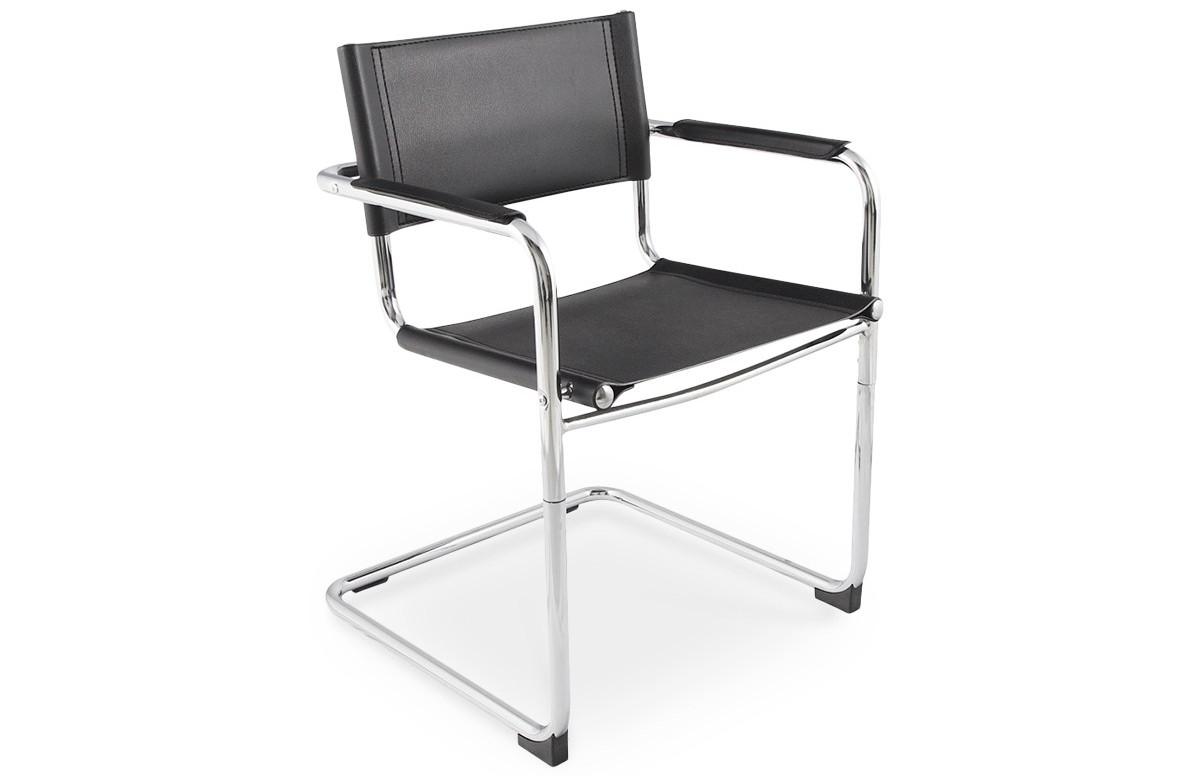 Chaise design KA noir
