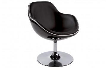 Siège Design KIRK Noir/Noir