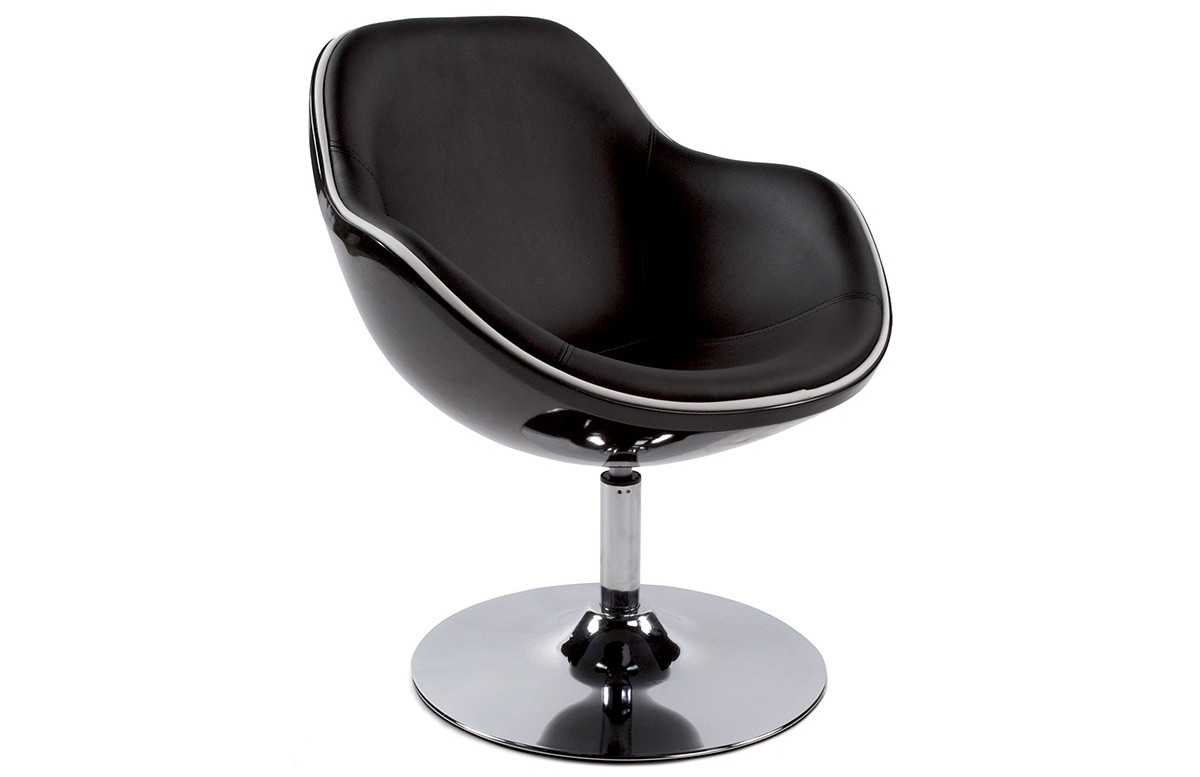 Siège Design Noir/Noir