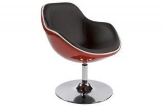 Siège Design KIRK Rouge/Noir