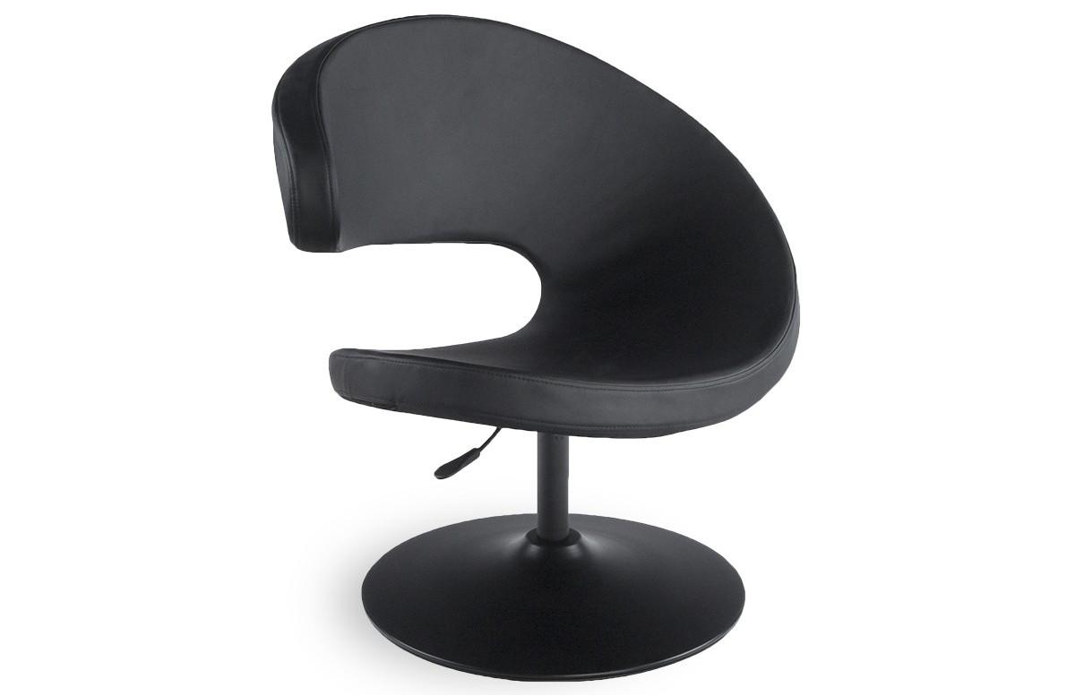Fauteuil design GHOST noir