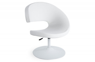 Fauteuil design GHOST blanc