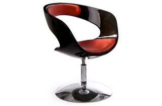 Siège Design SCOOP Noir/Rouge