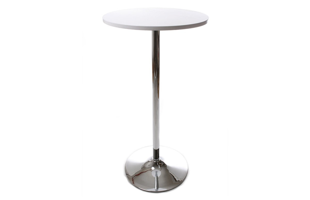 Table De Bar Design SAS Blanc
