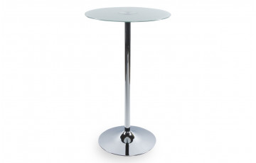 Table Bar Design NAKI Blanc