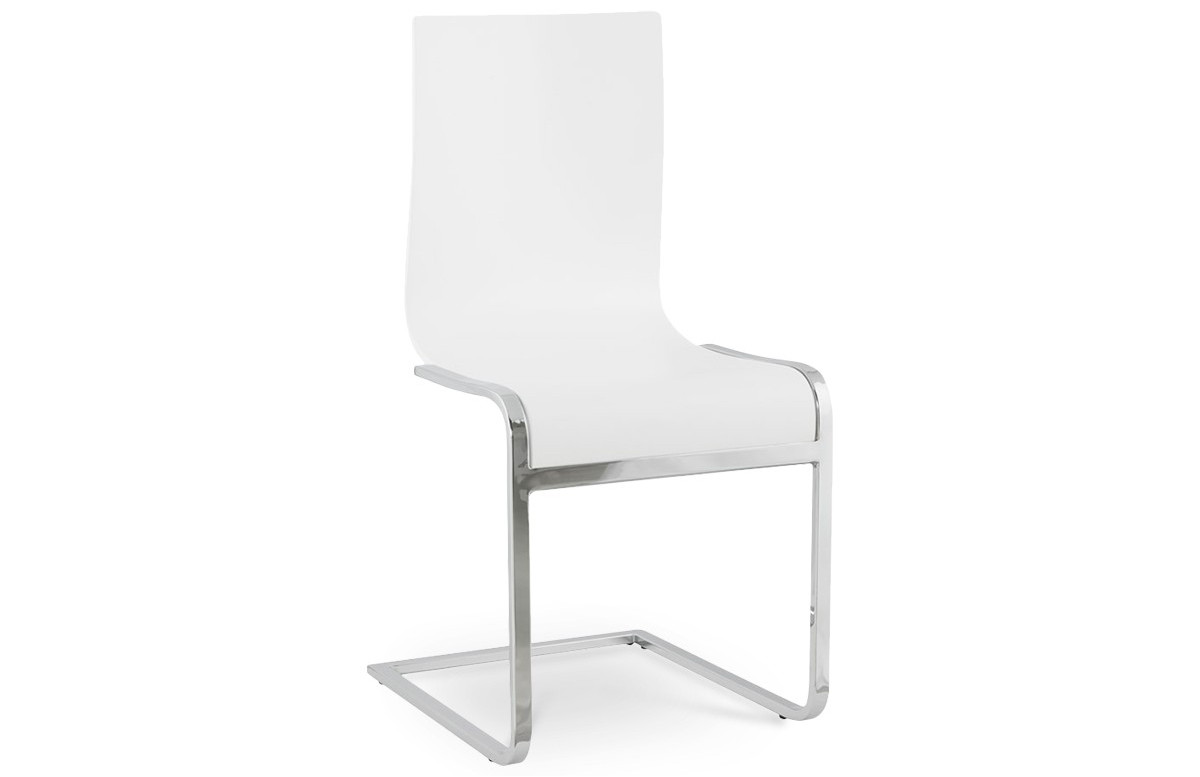 Chaise design RUSSEL blanc