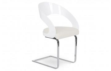 Chaise Design LOWFIT Blanc/Blanc