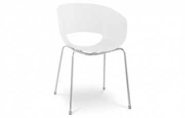 Chaise Design SPOUTNIK Blanc