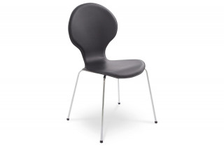 Chaise Design Similicuir SALSA Noir