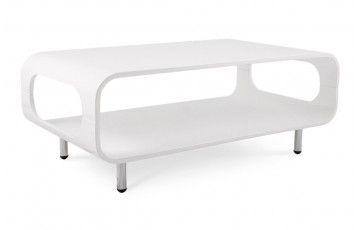 Table Basse Design SNAKE Blanc