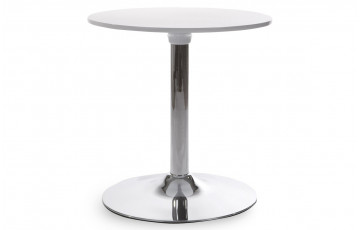 Table Basse Design Type Bar Blanc