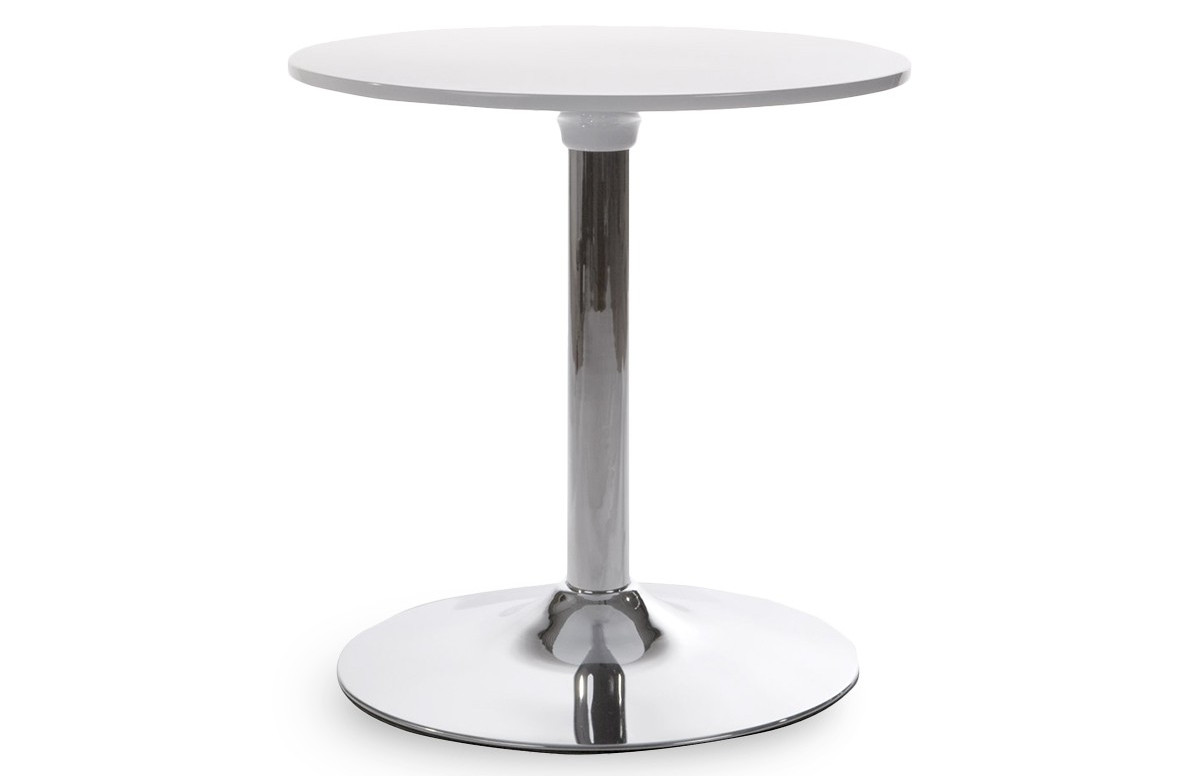 Table Basse Design Type Bar NEPTUN Blanc