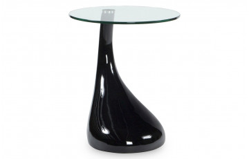 table basse design MELTING noir
