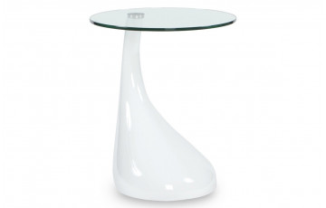 Table Basse Design MELTING Blanc