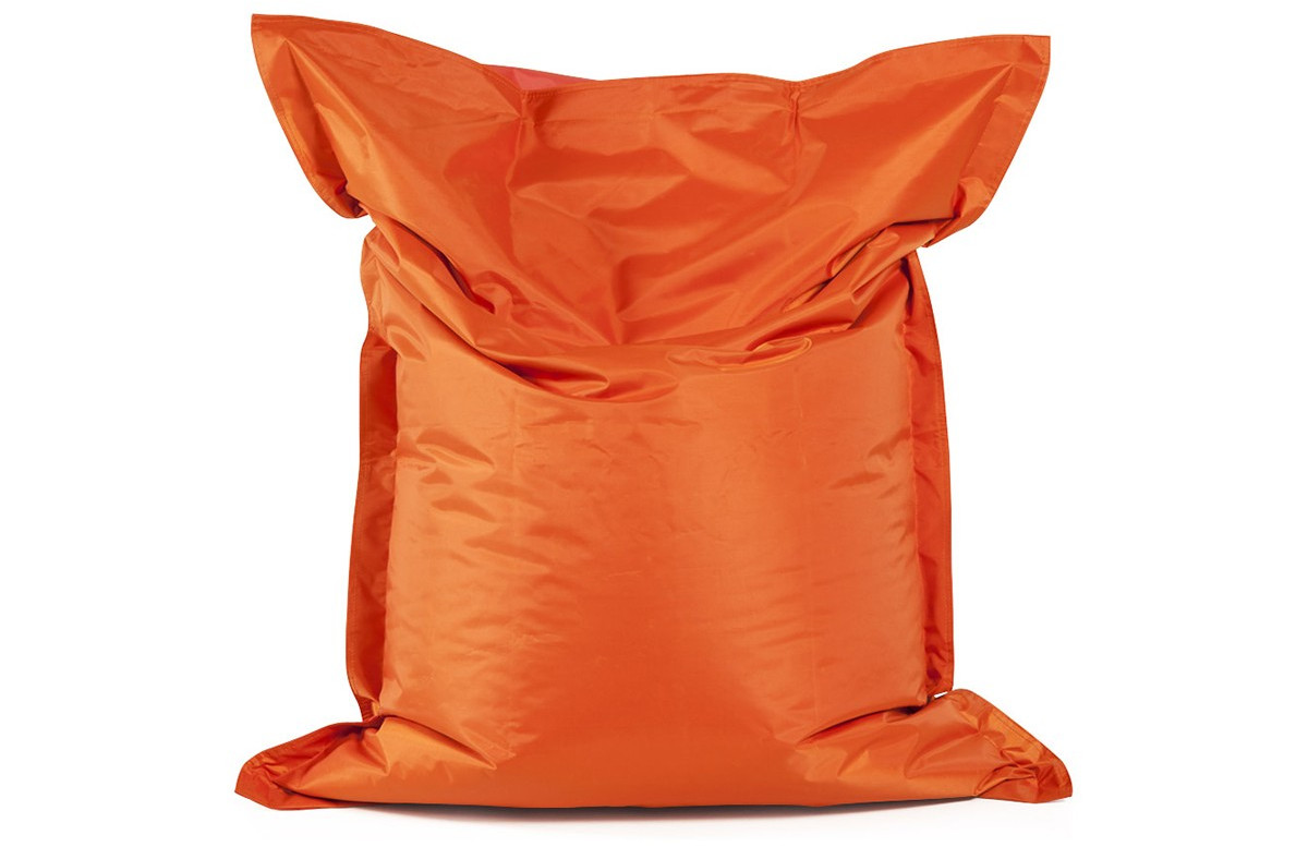 Pouf LAZY MINI orange 130X100cm