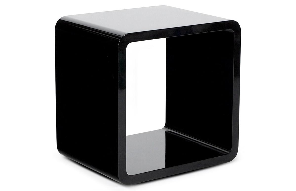 Cube de rangement DICE noir