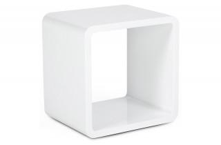 Cube de rangement DICE blanc
