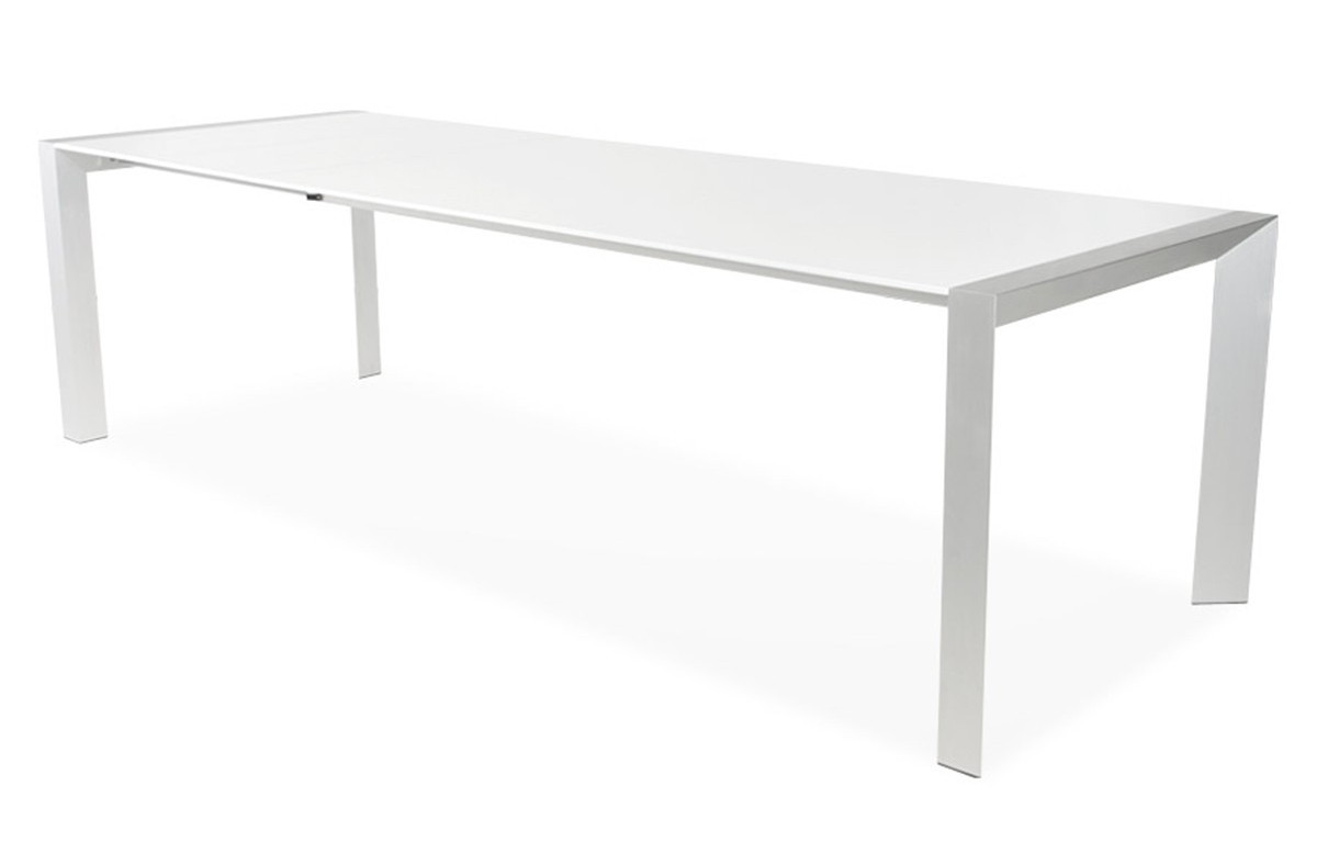 emejing table a manger blanche extensible ideas
