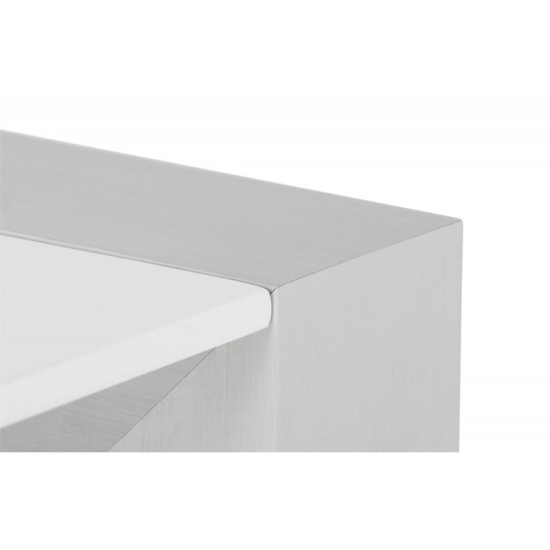 Table manger design blanche le r ve chez vous for Table a manger blanche design