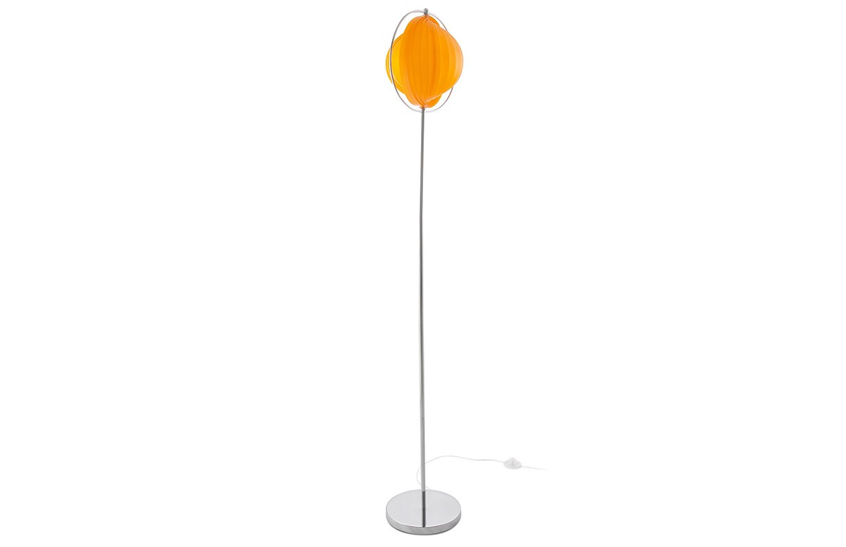 Lampadaire design MOON BIG orange