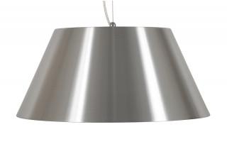 Lampe suspendue design MELON gris