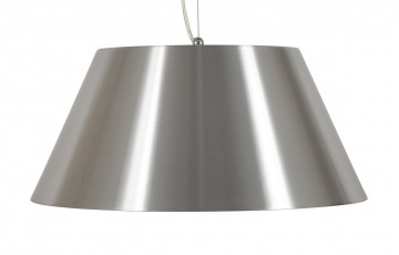 Lampe suspendue design MELON gris