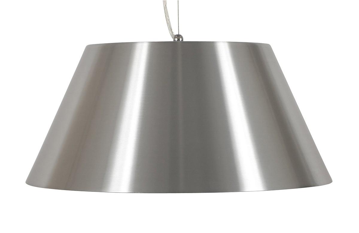 Lampe suspendue design grise