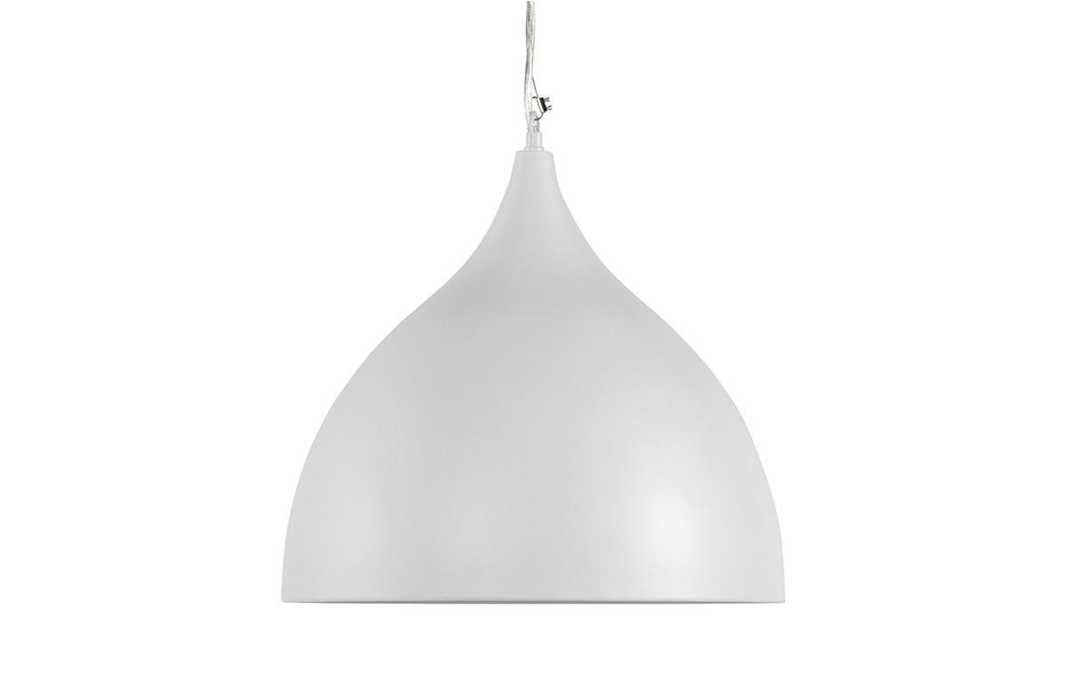 Lampe suspendue design BELL blanc