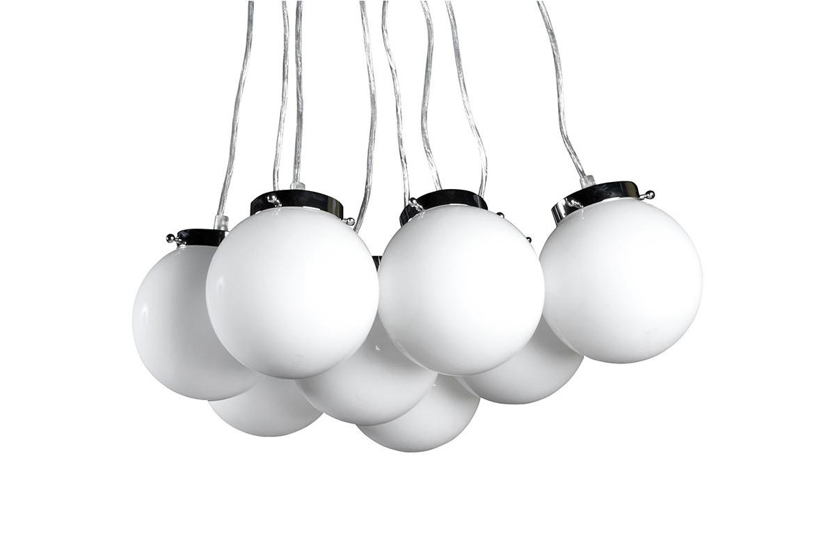 Lampe suspendue PERLE blanc