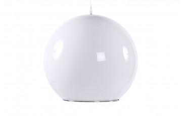 Lampe suspension design GLOBE blanc