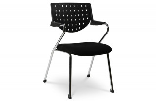 chaise de bureau design BUSINESS noir/noir