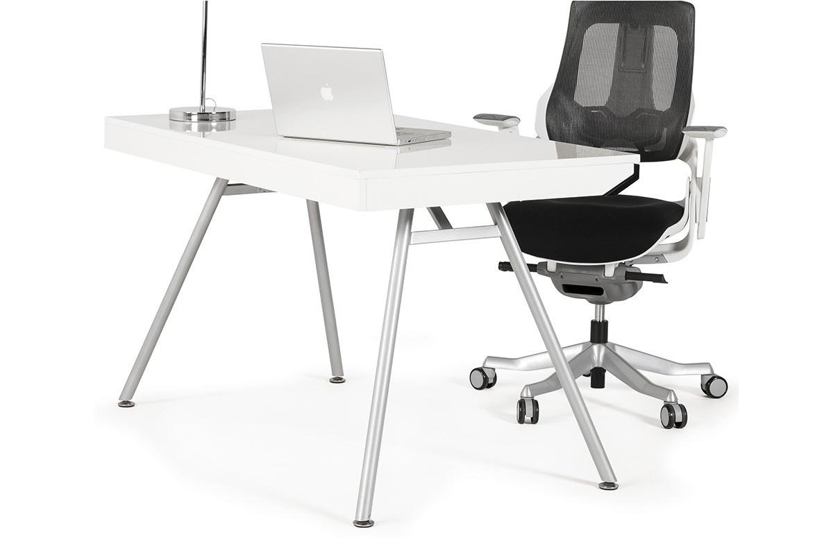 Meuble de bureau design blanc