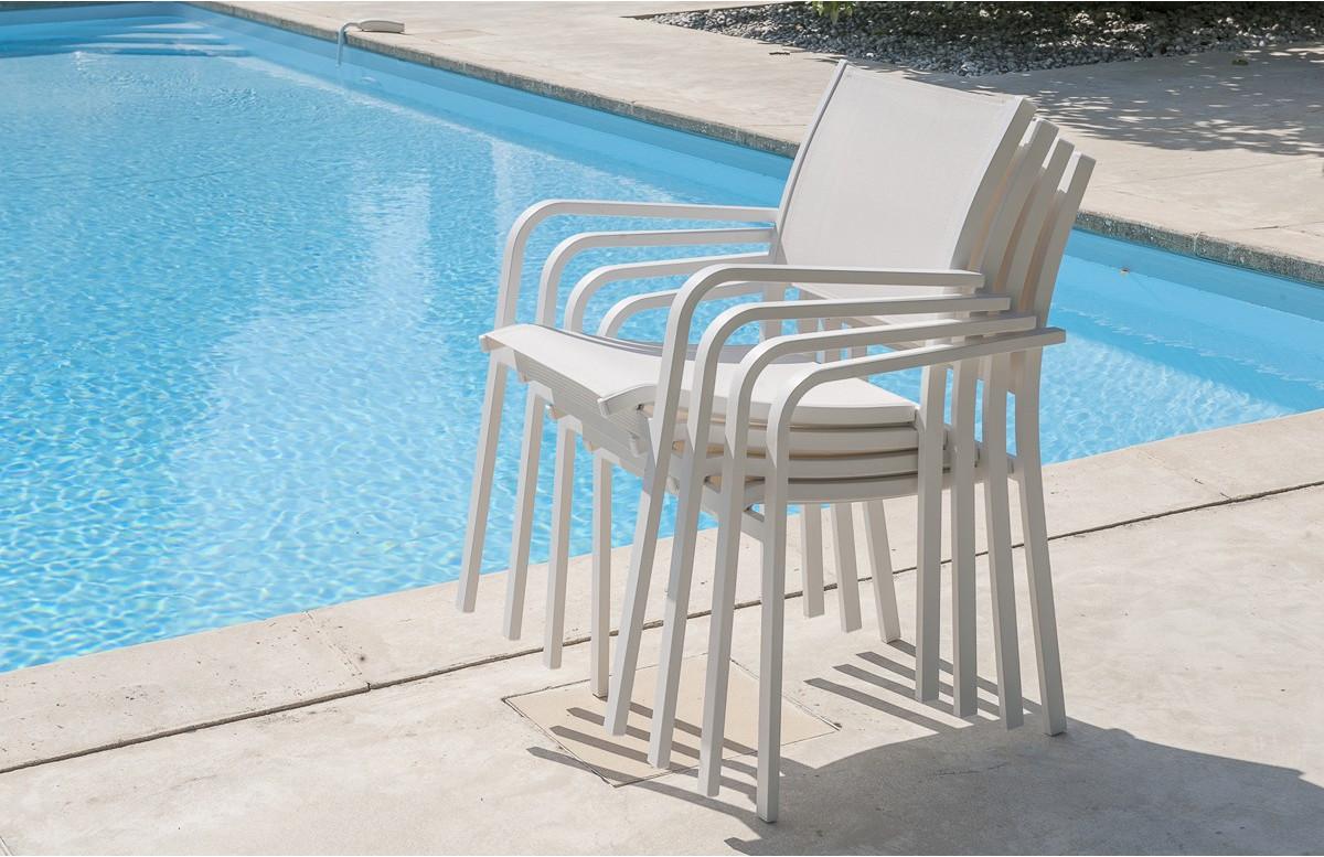 Lot de 4 fauteuils ALGA