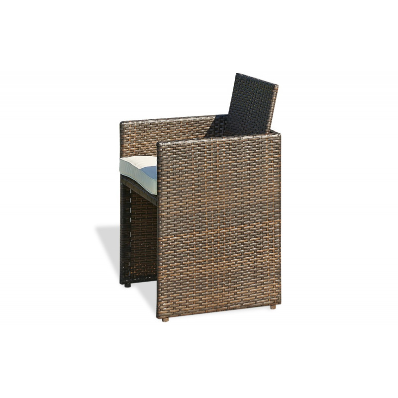 Salon de jardin mobilier de jardin design le r ve chez for Table avec tabouret encastrable