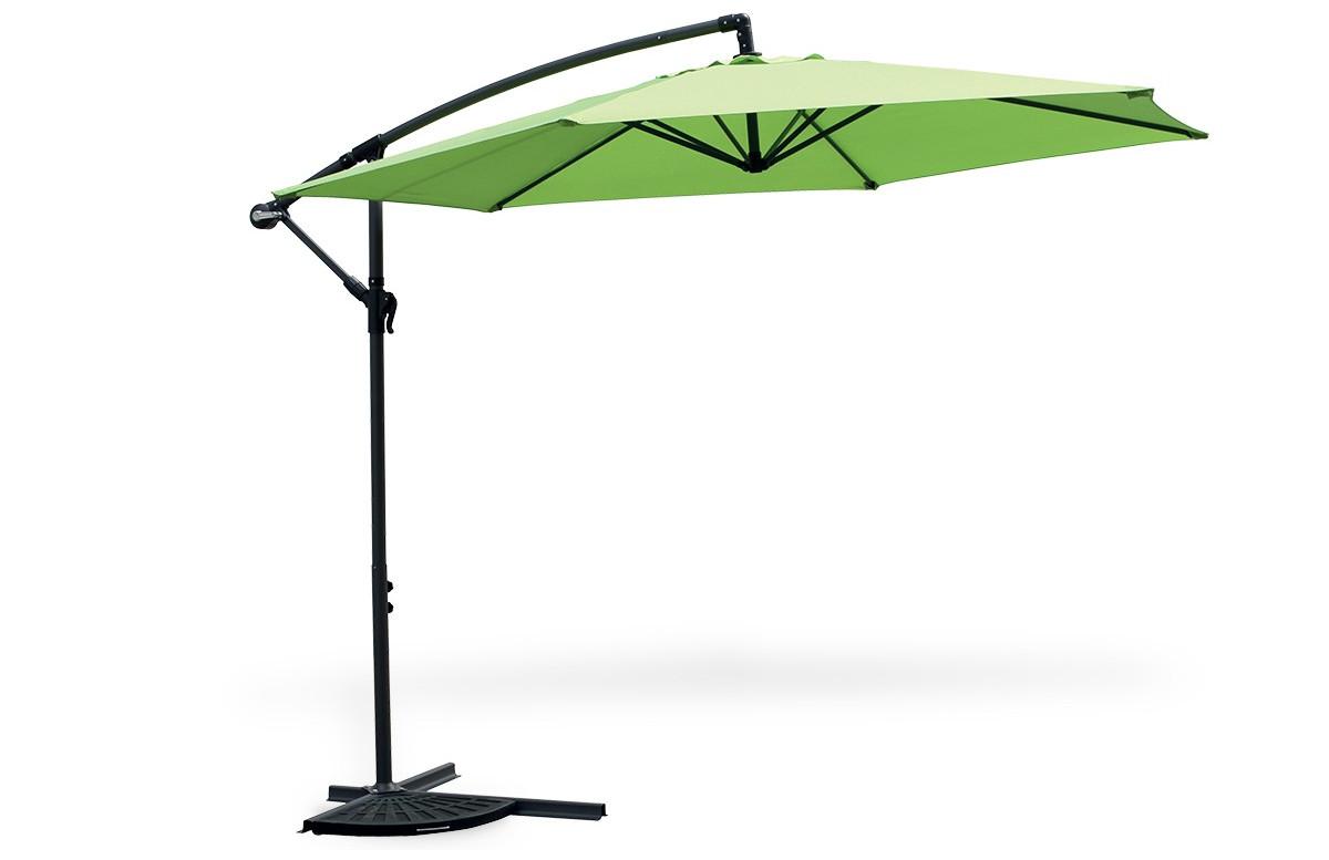 Parasol uni polyester vert anis