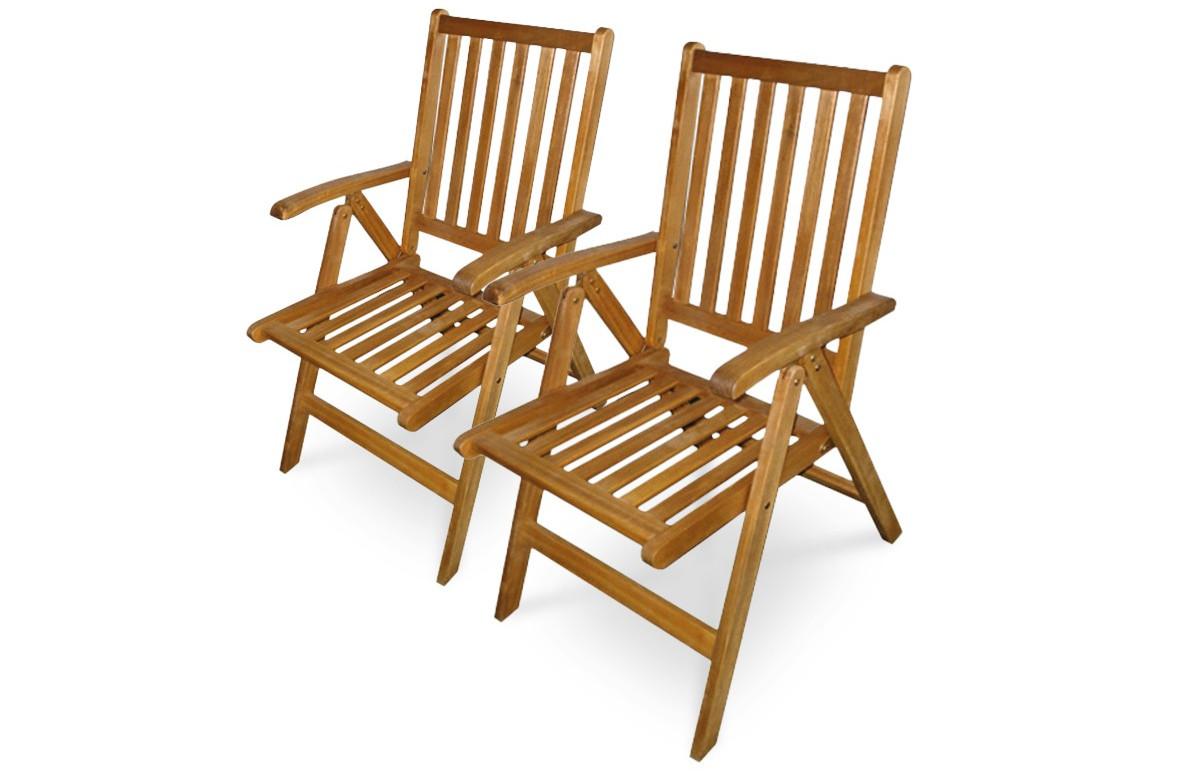 Lot de 2 fauteuils multi-positions