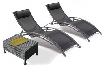 coffre bar d 39 ext rieur en r sine tress e marron le r ve chez vous. Black Bedroom Furniture Sets. Home Design Ideas