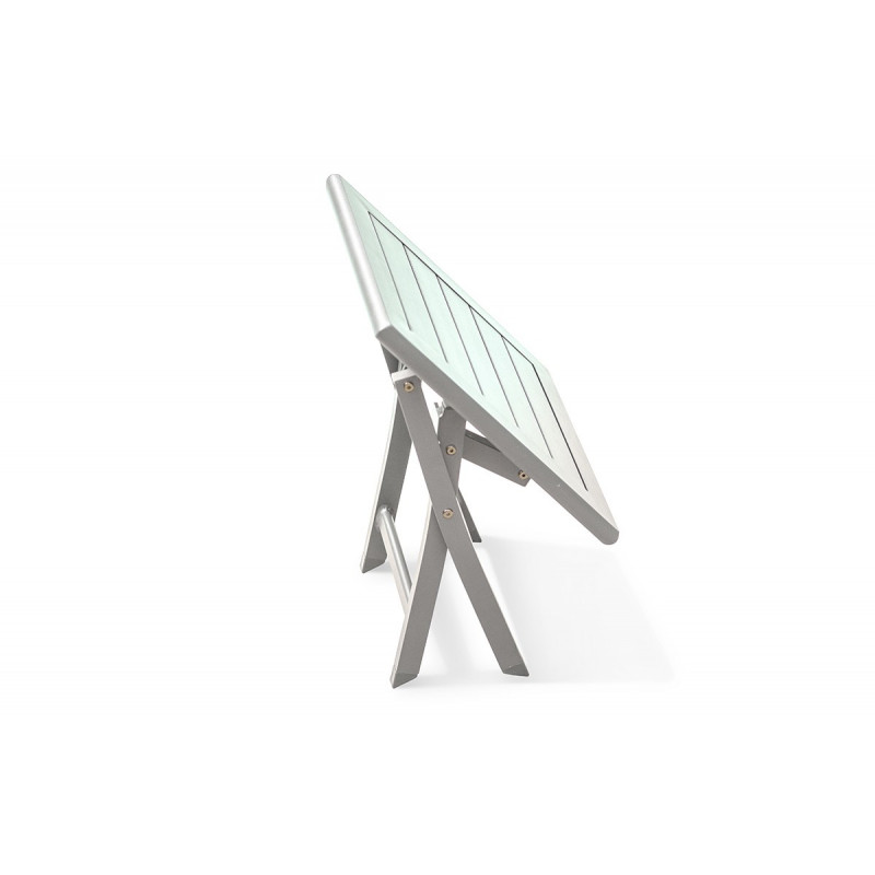 Pliante Vous Basse Chez Le En Aluminium Blanc Rêve Table nOPk0X8w